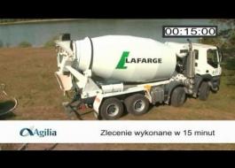 Porównanie Agilia Sols A i betonu standardowego