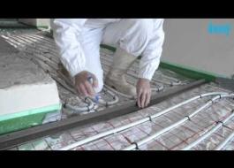 Jak wykonać wylewkę anhydrytową Knauf na ogrzewaniu podłogowym